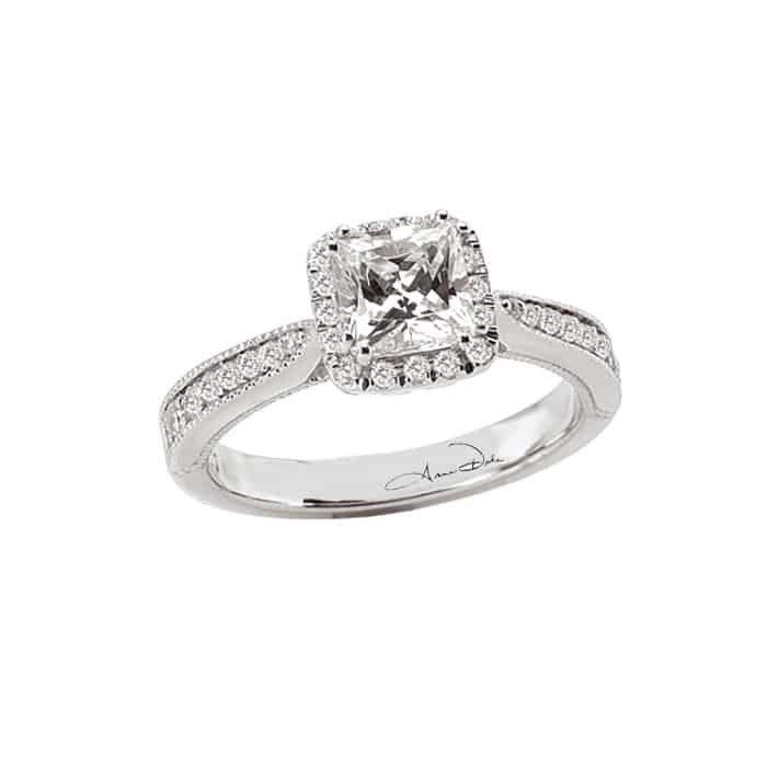 Heavenly Halo Semi Set Diamond Ring