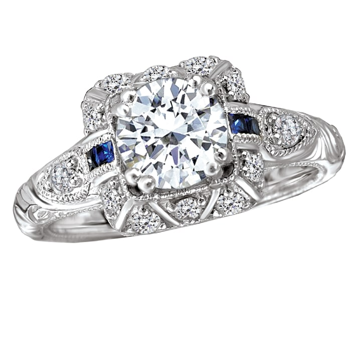 Bella Vintage Diamond Ring